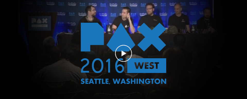 Watch the PAX West Panel